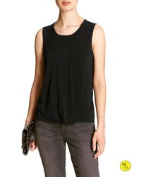 Banana Republic | Black Factory Twist-back Tank | Lyst