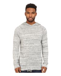 Alternative Apparel | Gray Eco Space Dye Jersey Voyager Hoodie for Men | Lyst