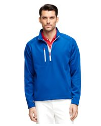 Brooks Brothers | Blue Zero Restriction Quarter-zip Jacket for Men | Lyst