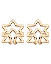 Coops London - Pink Star Squeeze On Earrings - Lyst