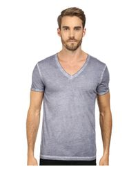 BOSS Orange | Gray Toulouse Garment Dyed Jersey Fashion Fit Short Sleeve V-neck Tee for Men | Lyst