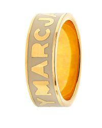 Marc By Marc Jacobs - Metallic Logo Disc-o Ring - Lyst