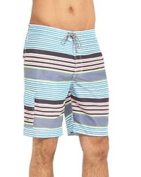Tommy Bahama | Black 'baja Line-up' Board Shorts for Men | Lyst