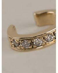 Lauren Klassen | Metallic Diamond Ear Cuff | Lyst