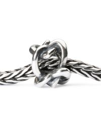 Trollbeads - Metallic Heart 4 You Silver Bead - Lyst