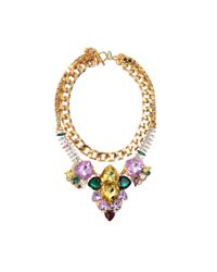 Anton Heunis | Metallic Les Demoiselles Asymmetrical Necklace | Lyst