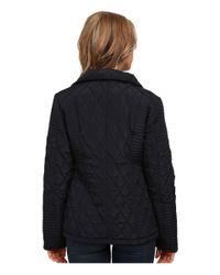 MICHAEL Michael Kors - Blue Zip Front Hooded Quilt - Lyst