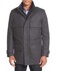 Marc New York - Gray By Andrew Marc 'liberty' 3-in-1 Field Jacket for Men - Lyst