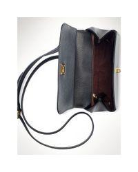 Ralph Lauren | Black Whitby Leather Cross-body Bag | Lyst