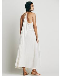 Free People | White Major Maxi | Lyst