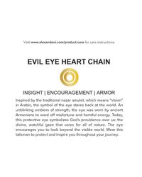 ALEX AND ANI | Metallic Precious Metals Evil Eye Heart Pull Chain Bracelet | Lyst