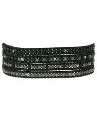 Chan Luu | 32' Black Sardonyx Mix Wrap Bracelet | Lyst