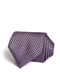Canali - Blue Micro Neat Classic Tie for Men - Lyst