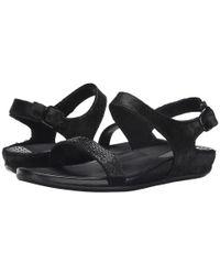 Fitflop | Black Banda Micro-crystal Sandal™ | Lyst