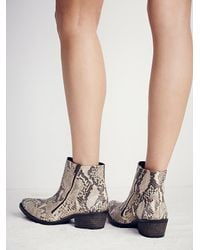 Free People - Multicolor Fp Collection Womens Crossings Ankle Boot - Lyst