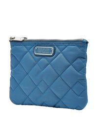 Marc By Marc Jacobs - Double Zip Quilted Cosmetic Bag - Blue - Lyst