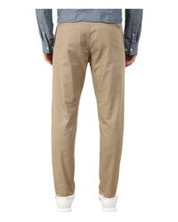 Obey - Natural Ludlow Twill Pants for Men - Lyst