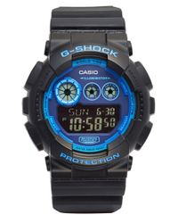 G-Shock - Blue Digital Watch for Men - Lyst