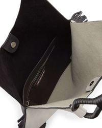 Marni - Black Fringed Hobo Bag - Lyst