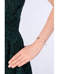 Delfina Delettrez - Metallic Eye Bracelet In Gold - Lyst