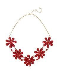 Mary Portas | Metallic Happy Flower Daisy Necklace | Lyst