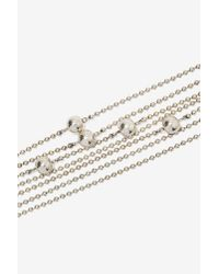 Nasty Gal | Metallic Ball Bustin' Chain Choker | Lyst