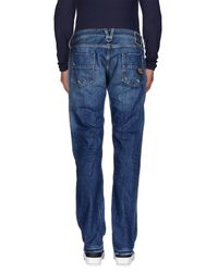 HTC | Blue Denim Trousers for Men | Lyst
