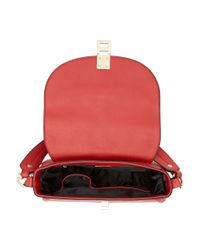 Dune | Red Deidre Saddle Bag | Lyst