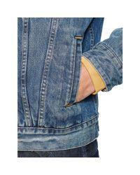 Denim & Supply Ralph Lauren - Blue Lined Denim Trucker Jacket for Men - Lyst