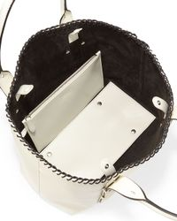 Alexander McQueen - White Legend Small Whipstitch Shopper Bag - Lyst