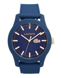 Lacoste | Blue '12.12' Watch for Men | Lyst