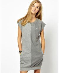 PUMA   Gray Sports Dress   Lyst