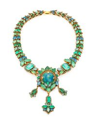 Aerin Erickson Beamon | Green Jewel Necklace | Lyst