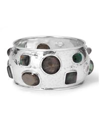 Ippolita | Black Wonderland Mosaic Crystal Bangle | Lyst
