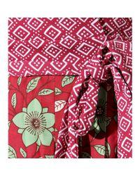 Diane von Furstenberg - Red Jewel Wrap Dress - Lyst