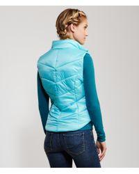 Aéropostale | Blue Solid Puffy Vest for Men | Lyst