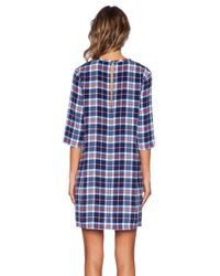 Equipment - Multicolor Aubrey Supreme Plaid Dress - Lyst