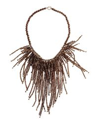 Brunello Cucinelli - Metallic Necklace - Lyst