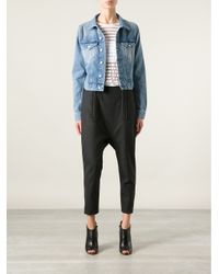Acne Studios | Blue 'Tag' Denim Jacket | Lyst