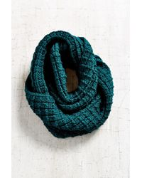 Urban Outfitters | Blue Boyfriend Knit Eternity Scarf | Lyst