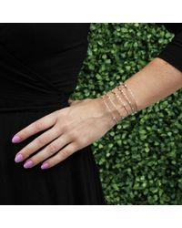 Mattia Cielo - Metallic Rugiada Five-Circle Wrap Bracelet - Lyst