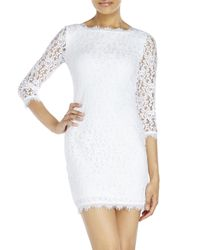 Diane von Furstenberg - White Colleen Lace Dress - Lyst