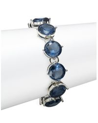Lauren by Ralph Lauren | Blue Colbat Crystal Bracelet | Lyst
