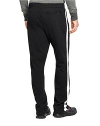 Polo Ralph Lauren | Black Interlock Track Pants for Men | Lyst
