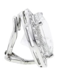 Andrea Fohrman | White Rock Crystal Earring | Lyst