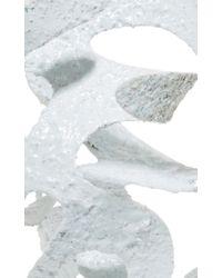 Rosie Assoulin | Roxanne Assoulin For Plaster White Large Sculptural Earrings | Lyst