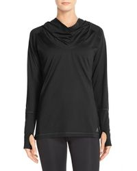 Adidas | Black Climalite Hooded Tunic | Lyst