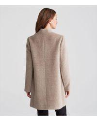 Eileen Fisher - Multicolor Drapey Suri Alpaca Notch Collar Long Coat - Lyst