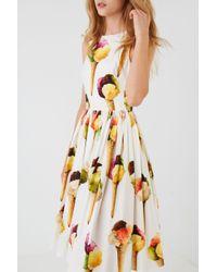 f0241600748 Dolce   Gabbana Ice Cream Dress in White - Lyst
