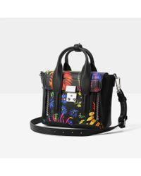 3.1 Phillip Lim | Black Pashli Mini Leather Satchel | Lyst